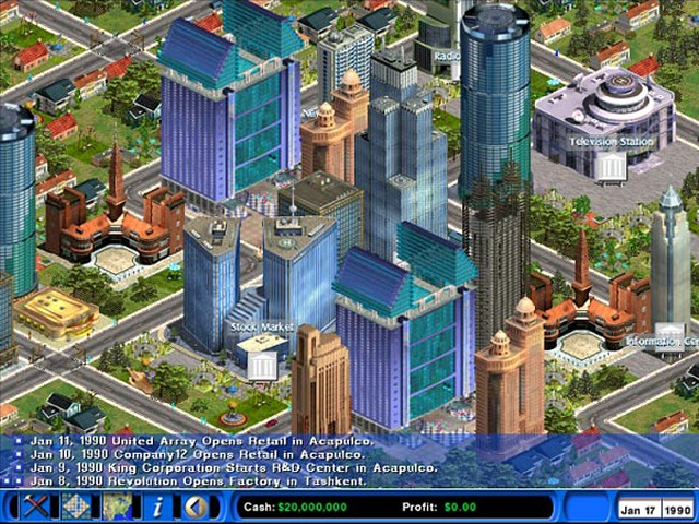 Screens Zimmer 2 angezeig: business simulation games pc