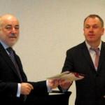 Вручение сертификатов первым участникам Инновационного центра «Сколково»