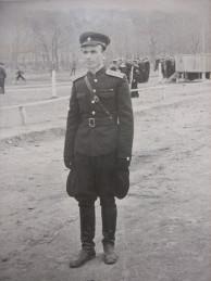 1956 год. Капитан Дюскин И. Е. Начальник ВСО 812